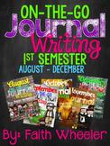 Writing Journal Bundle (1st Semester)