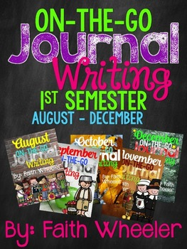 Writing Journal Bundle (1st Semester)