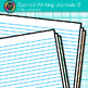 Opened Writing Journal Clip Art {Back to School Supplies for ELA Resources} 3