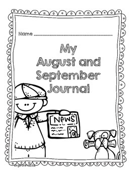 Writing Journal Covers