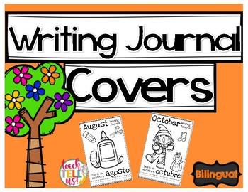 Writing Journal Covers - Bilingual