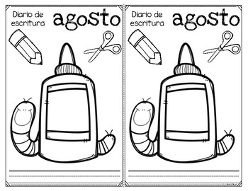 Writing Journal Covers Spanish