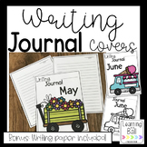 Writing Journal Covers for the Whole Year! (& Bonus Writing Paper)