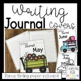 Writing Journal Covers for the Whole Year! (& Bonus Writin