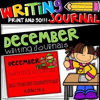 Writing Journal - December