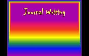 Writing Journal Entries Power Point