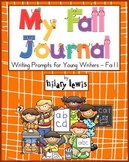 *Writing Journal - Fall Edition with Prompts and Pictures for Young Writers
