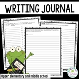Writing Journal: Prompts and Free Writing