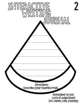 Writing Journal Freebie