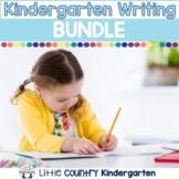 Kindergarten Writing Prompts & Resources: GROWING Bundle
