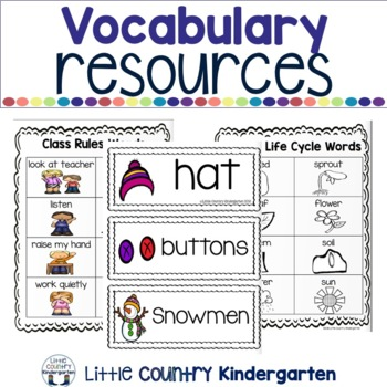 Kindergarten Writing Prompts & Resources: GROWING Bundle