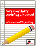 Writing Journal: Genre - Informational or Expository Writing - Editable
