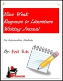 Writing Journal: Genre - Response to Literature Writing