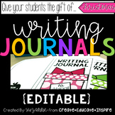 Writing Journal Gifts (Christmas) EDITABLE