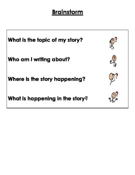 Writing Journal- Graphic Organizers and Checkists