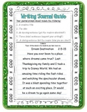 Writing Journal Guide