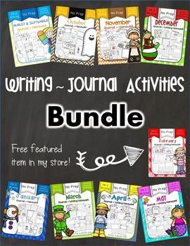 Writing Journal / Homework BUNDLE