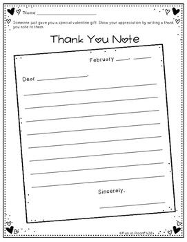 Writing Journal / Homework ~ February {No Prep}
