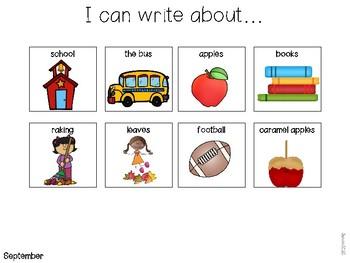 Writing Journal Idea Boards