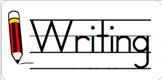 Writing Journal Label