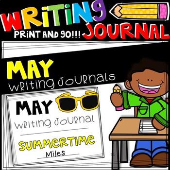 Writing Journal - May