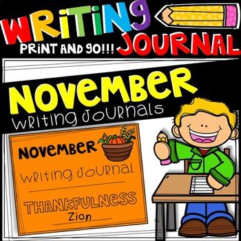 Writing Journal - November