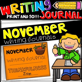 Writing Journal - November