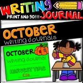 Writing Journal - October