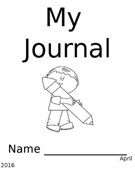 Writing Journal Pages EDITABLE