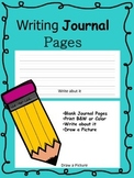 Writing Journal Pages - Free