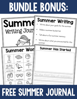 Writing Journal Prompt Bundle - Monthly Themed Journals