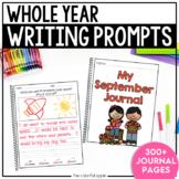 Writing Journal Prompts for the Whole Year