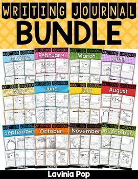 Writing Journal Prompts BUNDLE