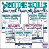 Writing Journal Prompts Bundle {Back to School/All Year Ro