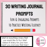 Quick Writes: Writing Journal Prompts for Middle and High School