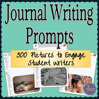 Year Long Journal Writing Prompts for Google Drive