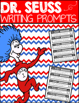 Writing Journal Prompts: Dr. Seuss