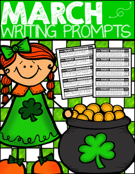 Writing Journal Prompts: March