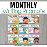 Daily Writing Prompts Bundle- with Digital Writing Journal Option