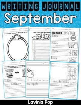 September Writing Journal Prompts