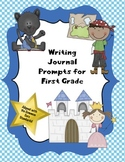 Writing Journal Prompts for First Grade