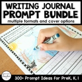 Writing Journal Prompts for Preschool and Kindergarten BUNDLE