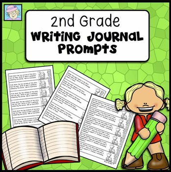 Writing Journal Prompts for Second Grade (Common Core Base