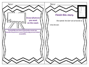One Month of Fun Writing Prompts --- Inspiring students to write creatively!