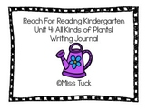 Writing Journal: Reach For Reading Kindergarten Unit 4: Al