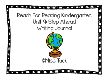 Writing Journal: Reach For Reading Kindergarten Unit 9: St