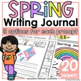 Writing Journal with Spring Writing Prompts   Sentence Sta