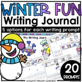 Winter Writing Journal   Sentence Starters   Differentiate