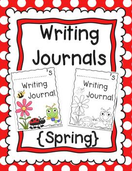 Writing Journal {Spring}