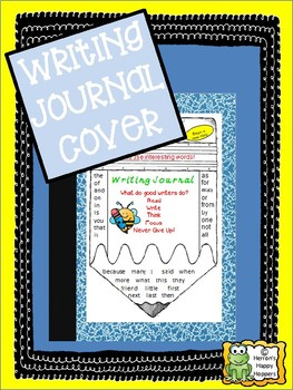 Writing Journal Cover Pencil